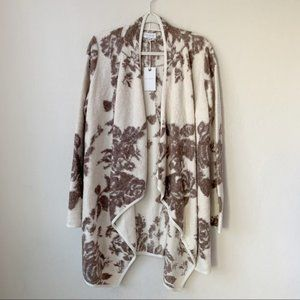 Lucky Brand Sweaters - Lucky brand Floral Cotton Cardigan